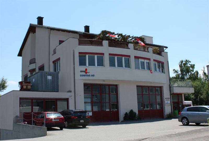 Der neue Firmensitz der Comtag AG