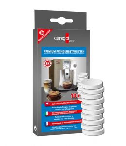 ceragol ultra - Premium Reinigungstabletten - Reinigung Kaffeebereich